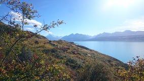 Lago Pukaki Imagens de Stock