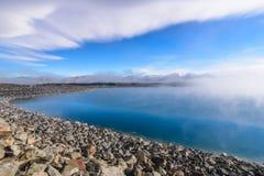 Lago Pukaki, Nuova Zelanda Immagini Stock Libere da Diritti
