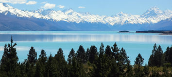 Lago Punakaiki, Nueva Zelanda Imagen de archivo