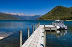 Lago puro Rotoiti Nova Zelândia Fotos de Stock Royalty Free