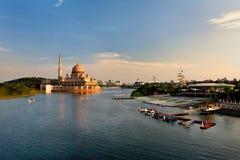 Lago Putrajaya della Malesia immagine stock
