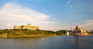 Lago Putrajaya, Malaysia Imagens de Stock