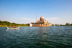 Lago Putrajaya, Malesia immagini stock