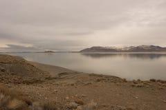 Lago pyramid Fotografie Stock