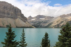 Lago pyramid Fotos de Stock Royalty Free