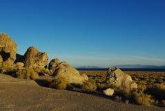 Lago pyramid, Nevada Foto de archivo libre de regalías