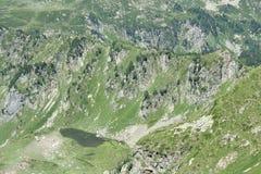 Lago in Pyrenees Immagini Stock Libere da Diritti