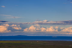 Lago Qinghai Fotografia Stock
