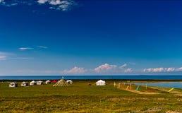 Lago Qinghai Foto de Stock