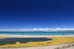 Lago Qinghai Imagem de Stock Royalty Free