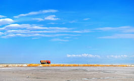 Lago Qinghai Fotografia de Stock