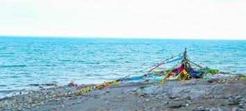 Lago Qinghai Immagini Stock