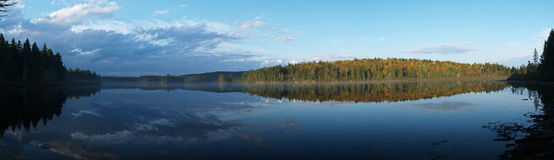 Lago in Quebec Fotografia Stock Libera da Diritti
