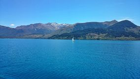 Lago Queenstown Fotografia Stock