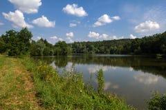 Lago quieto Imagem de Stock Royalty Free