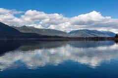 Lago Quinault Fotografia de Stock