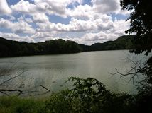 Lago Radnor foto de stock royalty free
