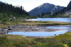 Lago rainbow Imagen de archivo libre de regalías