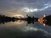 Lago Rangún Kandawgyi Foto de archivo