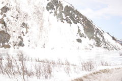 Lago range di Alaska Fotografia Stock