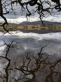 Lago Rannoch, Scozia fotografie stock