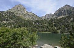 Lago Ratera Fotografia Stock