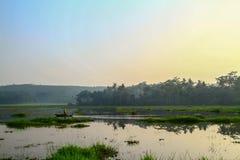 Lago Rawapening Foto de Stock Royalty Free