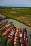 Lago Rawapening drought Fotografia Stock Libera da Diritti