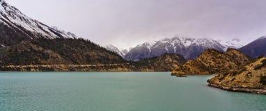 Lago Rawu (acima) Fotos de Stock
