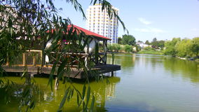 Lago Razelm Fotografia de Stock Royalty Free