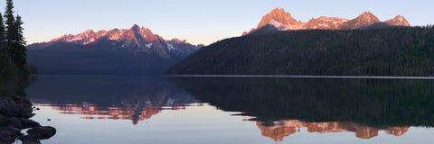 Lago redfish Fotografía de archivo libre de regalías