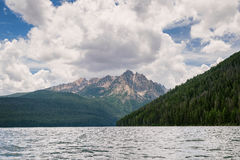Lago redfish, Idaho Imagen de archivo