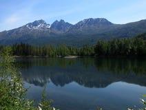 Lago reflection fotografia stock libera da diritti