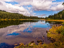 Lago reflection imagen de archivo