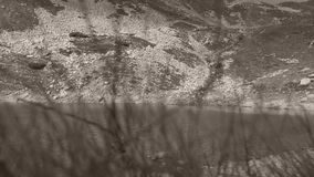 Lago reservado, Iezer en Arges, Rumania metrajes