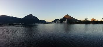 Lago in Rio de Janeiro Stock Photos