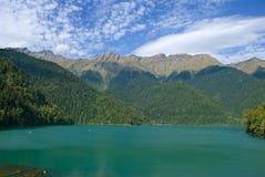 Lago Ritca fotografia stock