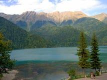 Lago Ritca fotografie stock