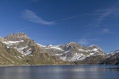 Lago Ritom Obraz Royalty Free