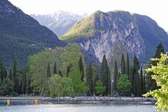 Lago riva del Garda, Italia Immagine Stock Libera da Diritti