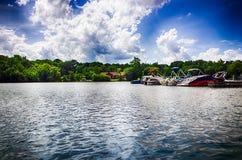 Lago river Immagini Stock