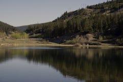 Lago roadside Immagini Stock Libere da Diritti
