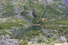 Lago roadside Imagens de Stock Royalty Free