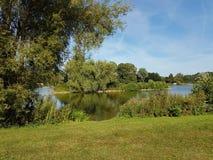 Lago Rocester del JCB Foto de archivo
