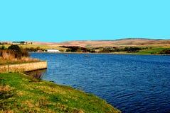 Lago Rochdale Hollingworth, en Lancashire Fotos de archivo libres de regalías