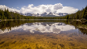 Lago rocky Mountain National Park Bierstadt Imagem de Stock