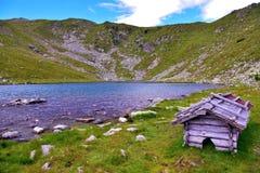 Lago Rodella, sud el Tyrol Italia fotografía de archivo libre de regalías