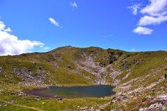 Lago Rodella, sud el Tyrol Italia imágenes de archivo libres de regalías