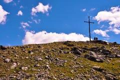 Lago Rodella, sud el Tyrol Italia fotografía de archivo