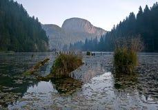 Lago rojo Fotografía de archivo